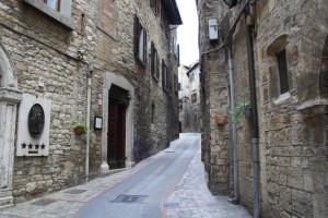 Узкие улочки города Тоди, Умбрия (Todi, Umbria)